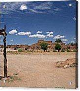 Taos Pueblo New Mexico Acrylic Print