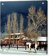 Taos Typical Acrylic Print