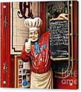 Tapas Restaurant Acrylic Print