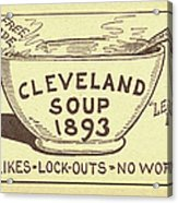 Tariff League Postcard, 1906 Acrylic Print