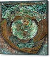 Tarnish And Brass Acrylic Print