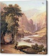 Tasmanian Gorge Acrylic Print