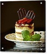 Taste Of Italy Tiramisu Acrylic Print