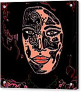 Tattoo Artist Acrylic Print