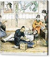 Tattoo Parlor, 1882 Acrylic Print