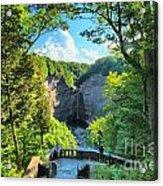 Taughannock Falls Overlook Acrylic Print