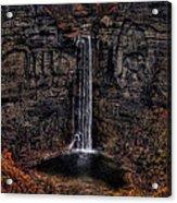 Taughannok Falls II - Hdr Acrylic Print