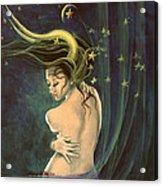 Taurus From Zodiac Series Acrylic Print by Dorina  Costras