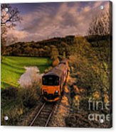 Taw Valley Acrylic Print by Rob Hawkins