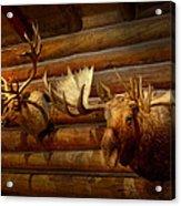 Taxidermy - The Hunting Lodge  Acrylic Print