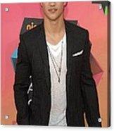 Taylor Lautner At Arrivals Acrylic Print