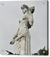 Tbilisi Mother Of Georgia Statue Acrylic Print