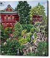 Tea Garden Acrylic Print