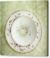 Tea Leaves Acrylic Print by Stephanie Frey
