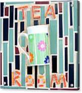 Tea Room Acrylic Print