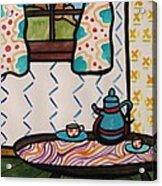 Tea Time Acrylic Print by John Williams