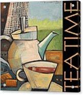 Tea Time Poster Acrylic Print