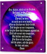 Teach Us To Pray Acrylic Print