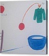 Teacup Ball Acrylic Print