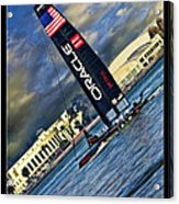 Team Oracle On The Bay Acrylic Print