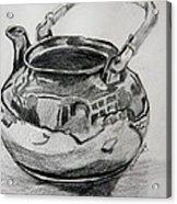 Teapot Reflections Acrylic Print