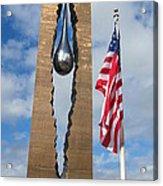 Teardrop Memorial Acrylic Print