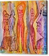 Tears For The Misfits Acrylic Print by Linda May Jones