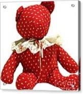 Teddy Bear Of Love Acrylic Print