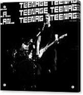 Teenage Wasteland Acrylic Print