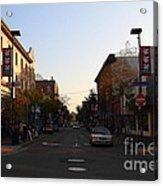 Telegraph Avenue At Bancroft Way In Berkeley California  . 7d10174 Acrylic Print