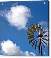 Temecula Wine Country Windmill Acrylic Print