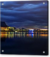 Tempe Arts Center At Sunset  Acrylic Print