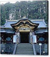 Temple Building Acrylic Print