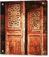 Temple Door Acrylic Print