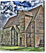 Temple Manor Acrylic Print
