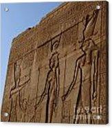 Temple Of Dendara Egypt Acrylic Print