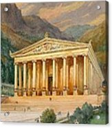 Temple Of Diana Acrylic Print