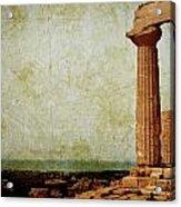 Temple Of Juno Acrylic Print