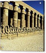 Temple Of Karnak, Luxor - Egypt Acrylic Print