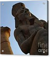 Temple Of Luxor Ramses Ll Acrylic Print