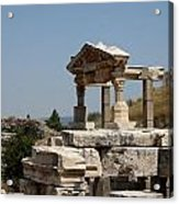 Temple Ruin - Ephesus Acrylic Print