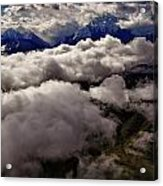 Ten Thousand Feet Over Denali Acrylic Print