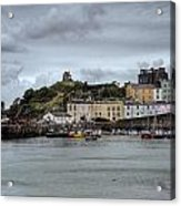 Tenby Harbour From North Beach Acrylic Print