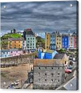 Tenby Harbour In Summer 2 Acrylic Print