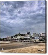 Tenby Harbour Low Tide Acrylic Print