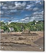Tenby North Beach 2 Acrylic Print