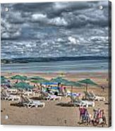Tenby North Beach 3 Acrylic Print