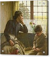 Tender Grace Of A Day That Is Dead Acrylic Print by Walter Langley