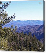 Tennessee Mountains Acrylic Print