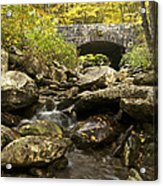 Tennessee Stone Bridge 6062 Acrylic Print